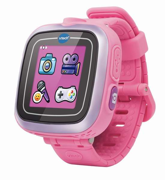 历史新低!可爱度爆表!VTech Kidizoom 拍照智能腕表(法语版)4.5折 27元限时特卖并包邮!