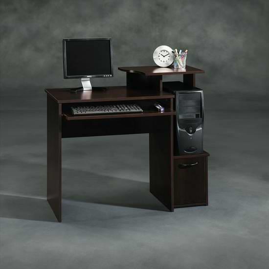 历史最低价!Sauder Beginnings 电脑桌5折 94.97元限时特卖并包邮!
