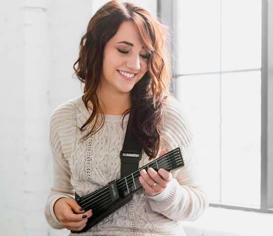 历史新低!Zivix jamstik+ 便携式智能吉他6.7折 259.99元限时特卖并包邮!