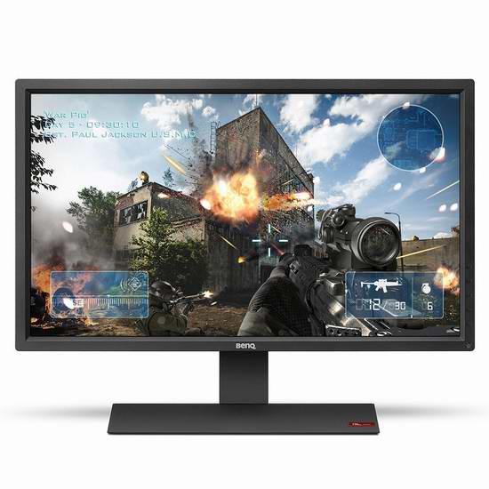 历史新低!BenQ 明基 RL2755HM 27英寸大屏幕护眼液晶显示器6.3折 248元限时特卖并包邮!