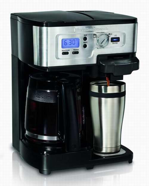 Hamilton Beach 49983C 豪华12杯可编程咖啡机6.2折 69.99元限时特卖并包邮!
