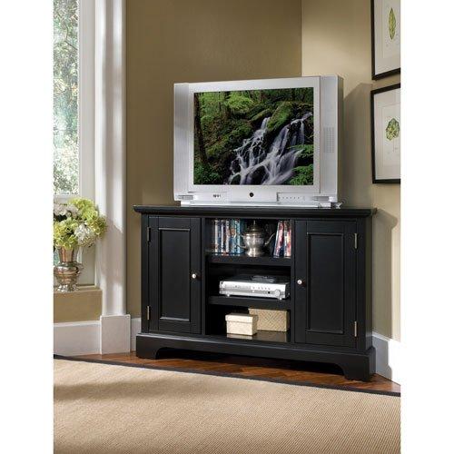 售价大降!历史新低!Home Styles 5531-07 Bedford 墙角实木电视柜2.1折 130.44元限时清仓并包邮!
