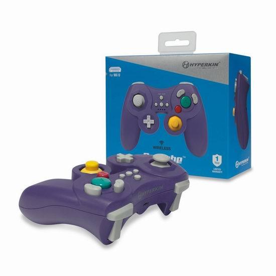 历史最低价!Hyperkin ProCube Wii U 无线游戏手柄3.2折 12.99元限时清仓!