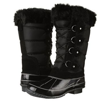 Clarks Mayfern Bell 女士时尚长筒靴1.6折 29.3元起限时清仓并包邮!