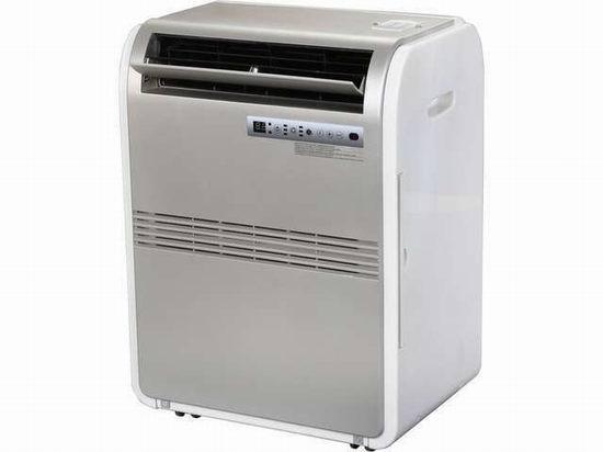 翻新 Haier 海尔 HPRB08XCM 8,000 BTU 便携移动式空调机5.8折 199.99元限时特卖并包邮!