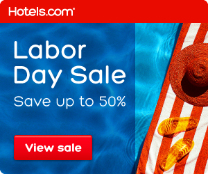 Hotels.com 劳动节特卖现在开售,加拿大境内外酒店5折起!