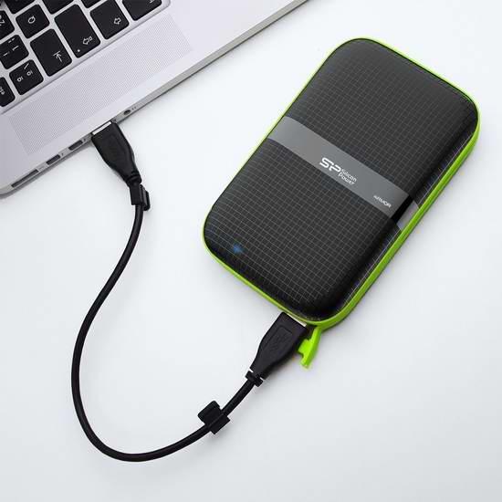 历史最低价!Silicon Power A60 军用级防泼水防震 2.5英寸2TB USB 3.0移动硬盘 119.99加元限时特卖并包邮!