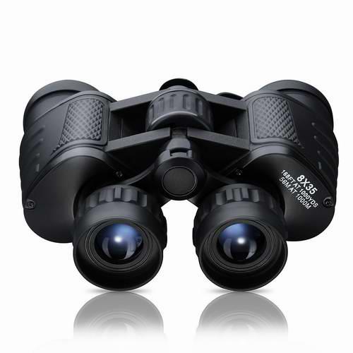 Pictek 8x35mm 防水广角双筒望远镜6.7折 29.57元限量特卖并包邮!
