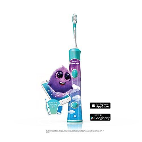 历史新低!Philips 飞利浦 Sonicare 声波震动 HX6321/02 蓝牙版儿童电动牙刷 44.96元限时特卖并包邮!
