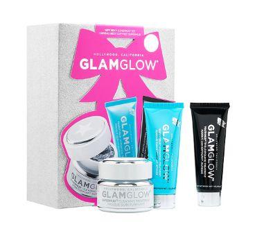 好莱坞明星大爱!GLAMGLOW Gift Sexy SUPERMUD面膜超值套装价值 162元 79元特卖!