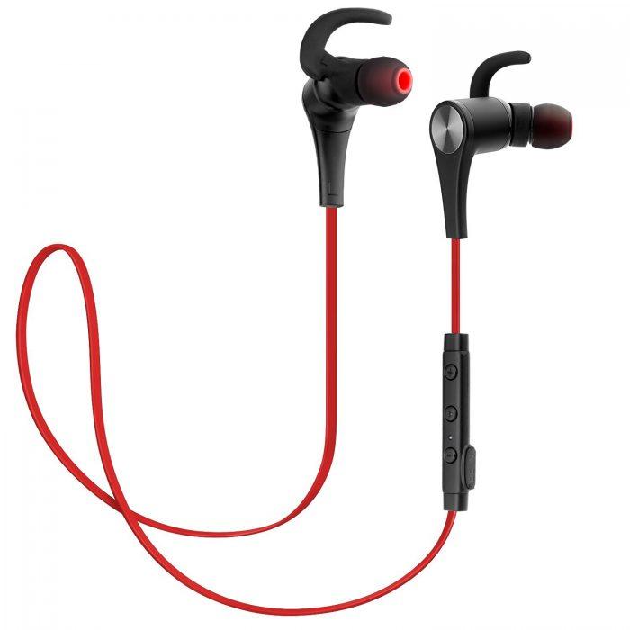 历史新低!SoundPEATS Q12 无线蓝牙4.1防汗运动式耳机 22.59元限时特卖,原价 30.59元,包邮
