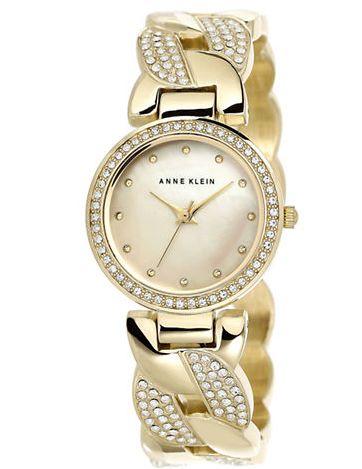 ANNE KLEIN 女款水晶腕表 117.74元特卖,原价 225元,包邮