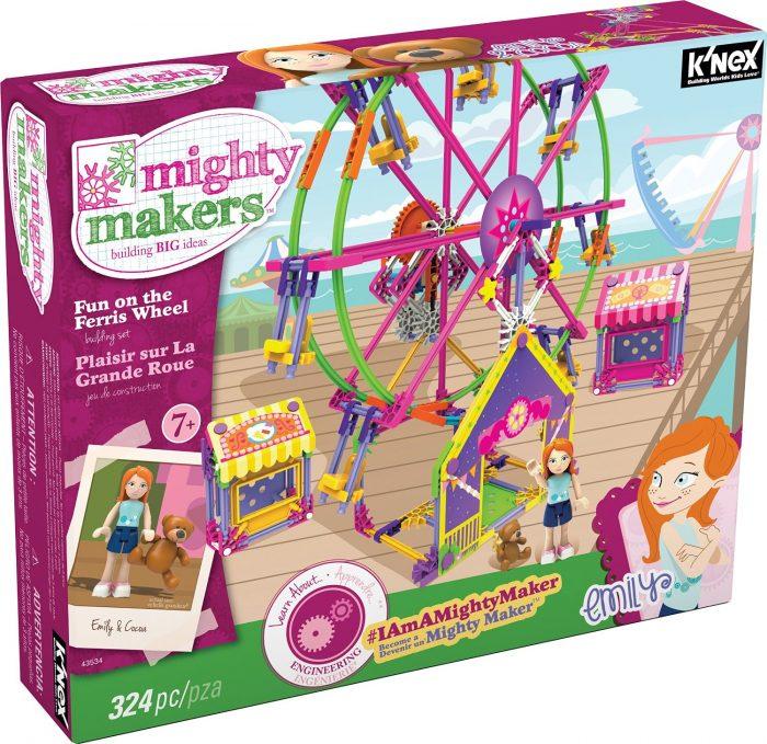 Knex 搭建乐趣摩天轮益智玩具 24.99元特卖,原价 44.99元