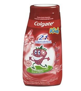 Colgate 高露洁2合1儿童牙膏100ml 草莓味 1.97元特卖,原价 3.99元