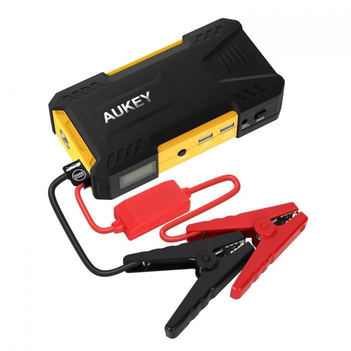 Aukey 16500mAh 便携式多功能移动电源/充电宝/汽车电瓶紧急启动电源 54.99元限量特卖,原价 79.99元,包邮