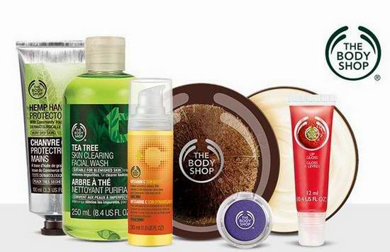 The Body Shop美体小铺 精选美容护肤,化妆,香水等产品买三送三!