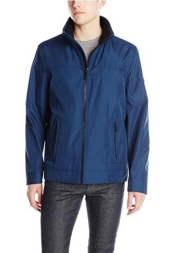 Calvin Klein男士防水防风夹克1.6折 38.83元起特卖(4色可选),原价 245元,包邮