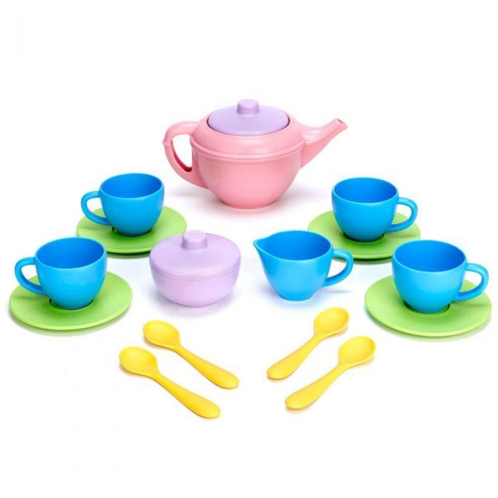 美丽安全的过家家茶具!Green Toys 儿童茶具套装 23.99元,原价 37.23元