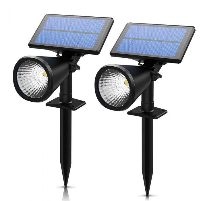 Mpow 超亮太阳能户外防水射灯2件套 36.54元限量特卖,原价 42.99元,包邮