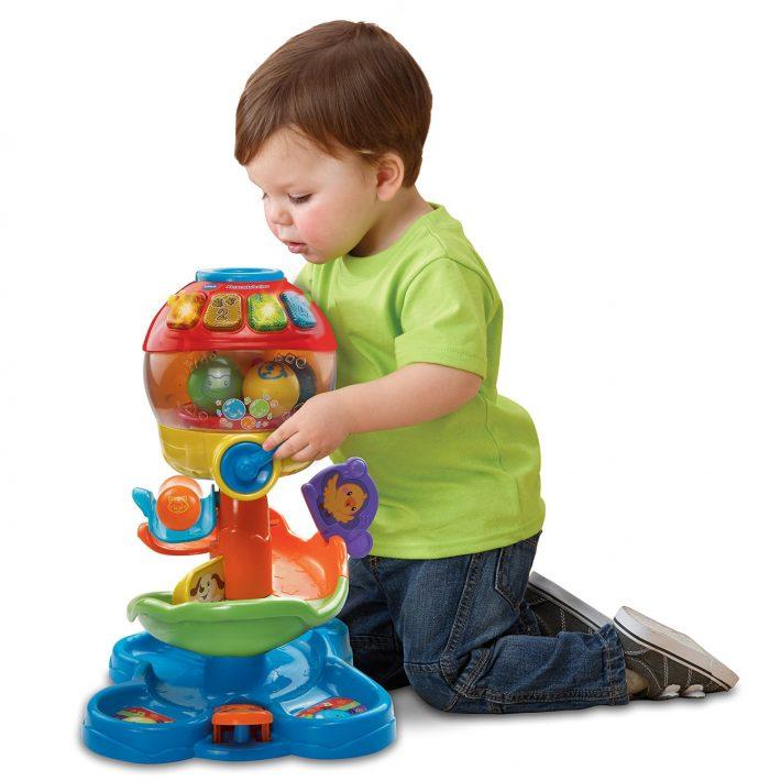 VTech 欢乐彩球塔早教玩具 19.97元特卖(法语版),原价 34.99元