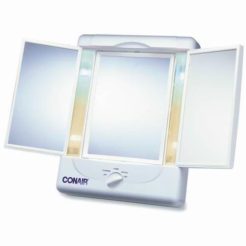 Conair 三面化妆镜 30.15加元,Costco同款售价37.99加元