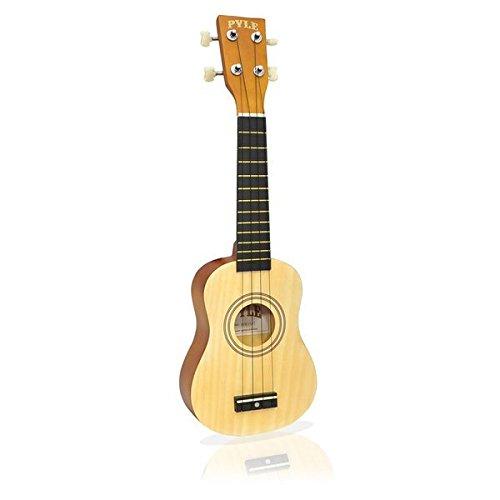 历史新低!Pyle-Pro PUKT15NT 21英寸高音四弦吉他4.1折 25.99元限时特卖并包邮!