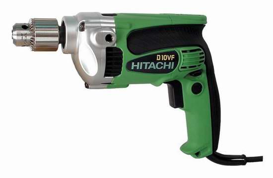 历史新低!Hitachi 日立 D10VF 9安培手提电钻3.2折 71.27元限时特卖并包邮!