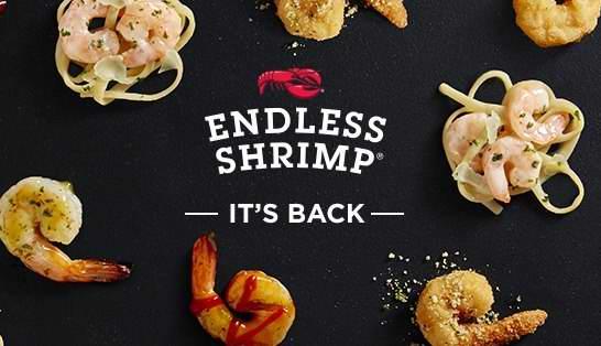 吃货福音!Red Lobster 红龙虾海鲜餐厅 2016年度Endless Shrimp虾餐任食吃到饱又来了!