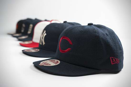 精选多款 New Era Cap 专业棒球帽2折起限时清仓!售价低至8.66元!