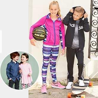 新品上线!精选1844款 Adidas、Nike、Levi's、Bench、Calvin Klein 等品牌时尚童装全部5.2折限时特卖!