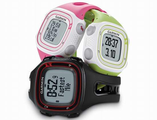 史低价上再降20加元!Garmin 佳明 Forerunner 10 GPS 跑步腕表 69.99加元限时特卖并包邮!2色可选!