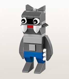 今日(9月15日)9时开放注册!LEGO店内10月4日-5日小朋友搭建并免费赠送乐高迷你狼人模型!