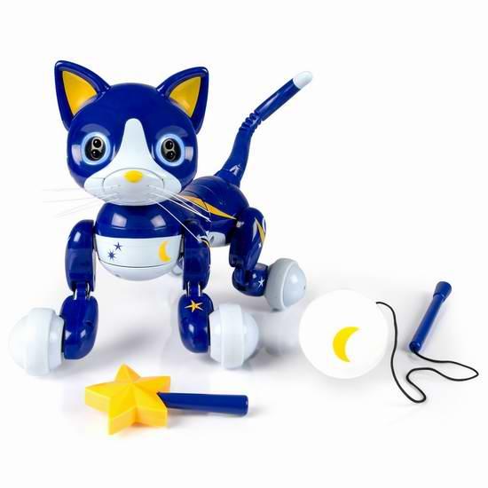 售价大降!历史新低!Zoomer Kitty 智能机器猫3.8折 49.99元限时清仓并包邮!