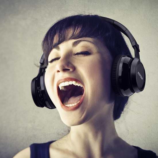 Mpow Thor 超长续航无线蓝牙头戴式耳机7.2折 26元限量特卖并包邮!