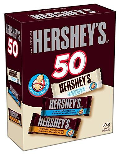 Hershey's 好时 万圣节巧克力糖果50支装6.3折 9.48元限时特卖!