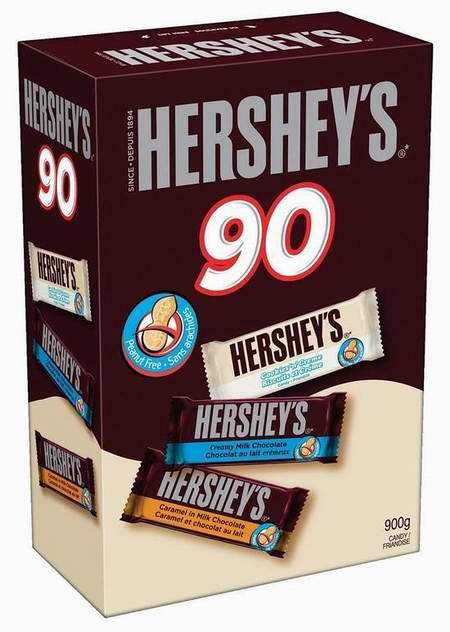 Hershey's 好时 万圣节巧克力糖果90支装7.3折 15.48元限时特卖!