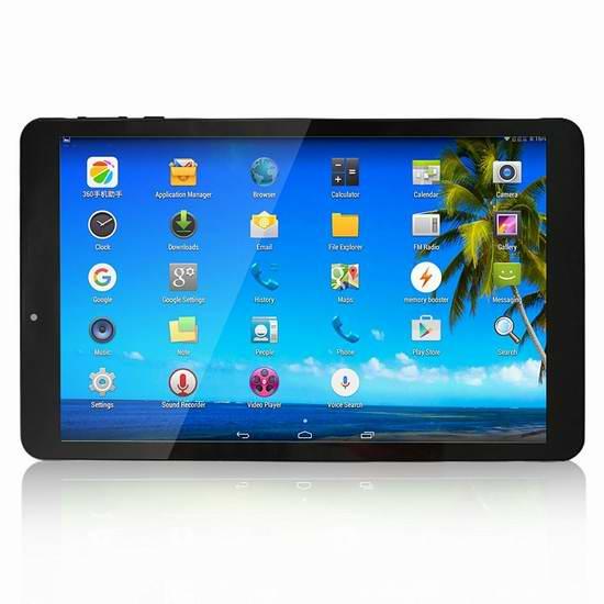 历史新低!Yuntab K03-10 10.1英寸3G平板电脑 90.94元限量特卖并包邮!