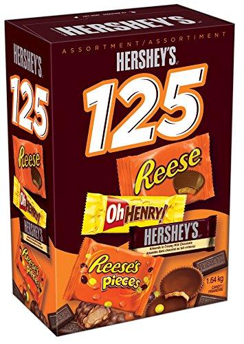 Hershey's 好时 万圣节巧克力糖果125支装6.2折 18.88元限时特卖!