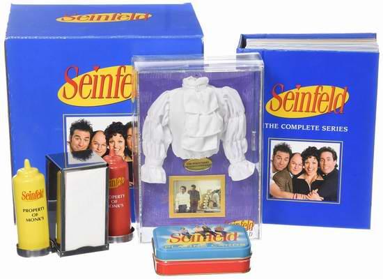 历史最低价!Seinfeld《宋飞正传》喜剧DVD全集 3.4折 39.99元限时特卖并包邮!