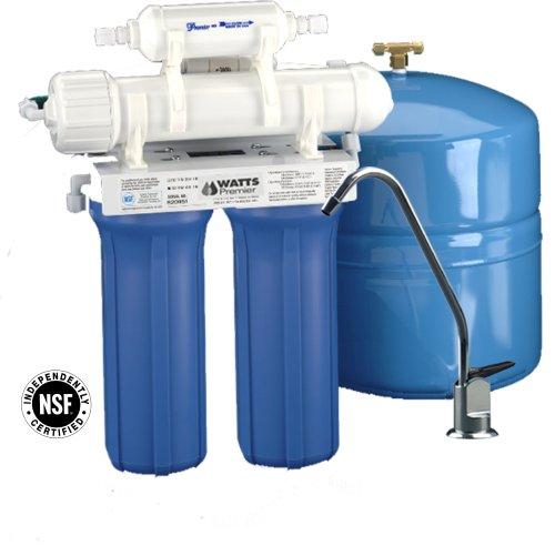 Watt RO-TFM-4SV Premier 4级反渗透纯净水过滤系统6.2折 159.99元限量特卖并包邮!