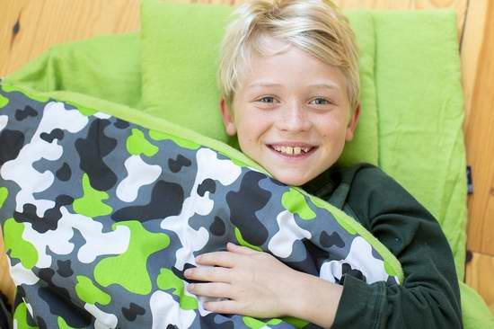 Sleepover必备!历史新低!Wildkin Original 儿童睡袋套装2.9折 33.66-39.74元限时清仓!两色可选!