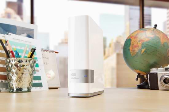 历史最低价!Western Digital 西部数据 My Cloud 4TB NAS 网络存储/移动硬盘 199.99元限时特卖并包邮!