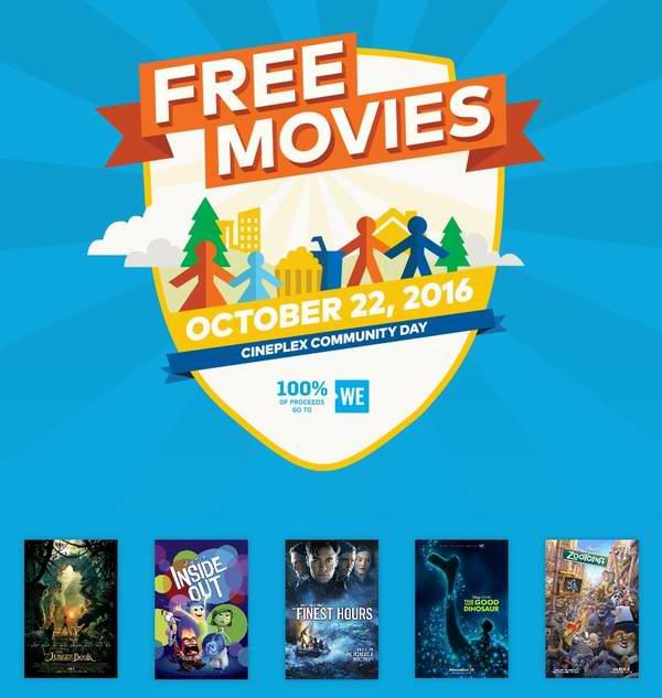 Cineplex Family Favourites 10-12月份合家欢电影安排一览,每周六仅需2.99元!10月22日多部电影免费!