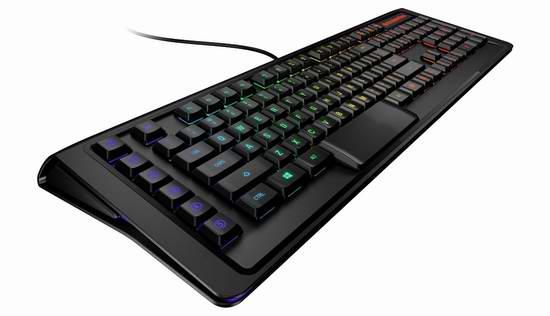历史新低!世界最快的游戏键盘!SteelSeries Apex M800 RGB背光机械游戏键盘5.8折 149.99元限时特卖并包邮!