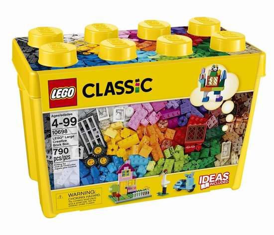 LEGO 乐高 10698 大型创意积木盒(790pcs)5.9折 46.99加元包邮!