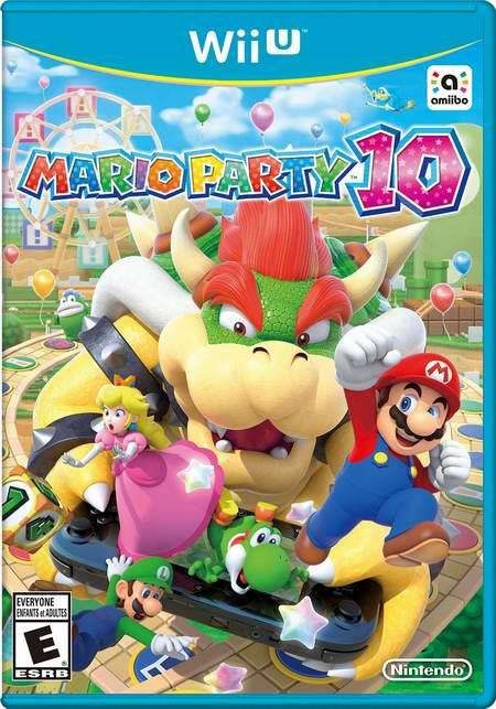 历史最低价!老少皆宜!Mario Party 10 马里奥聚会10 Wii U标准版聚会游戏6.2折 39.99元限时特卖并包邮!