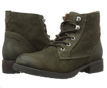 Steve Madden Gobbin 女式皮靴1.9折 29.62元起限时清仓并包邮!2色可选!