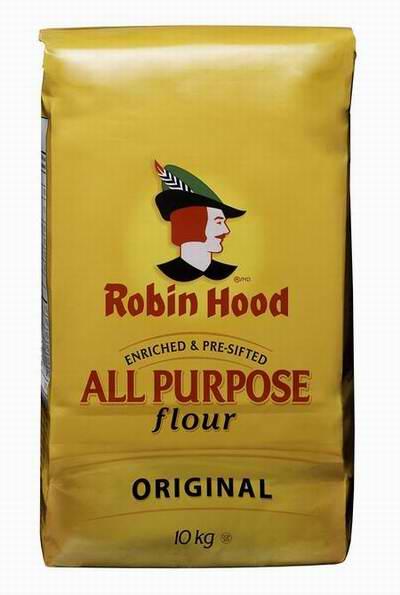 Robin Hood 天然中筋通用面粉10公斤装2.5折 7.47元限时特卖!