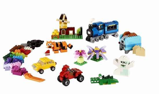 LEGO 乐高 10696 经典创意系列中号积木盒(484pcs)5.3折 24.86加元!