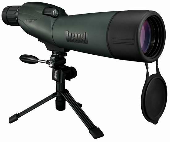 历史新低!Bushnell 博士能 Trophy 奖杯系列 XLT 20-60x 65mm 防水单筒观鸟狩猎望远镜4.8折 199.99元限时特卖并包邮!